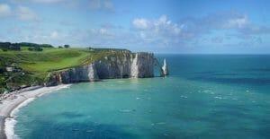 Etretat falaises Normandie